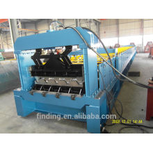 Galvanized steel metal deck forming equipment