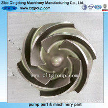 Stainless Steel/ Investment Casting/Lost Wax Casting Pump Impeller