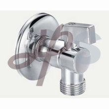 hot forging and chrome plated brass angle valve