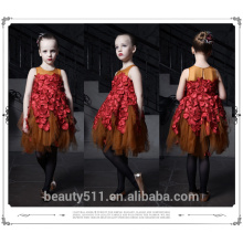 Girl Party Wear Western Children Girl Birthday Dress For Baby child beautiful girl without dress ED663