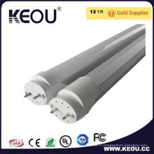 Ce / RoHS commercial / aluminium d'intérieur et en plastique T8 1200mm LED
