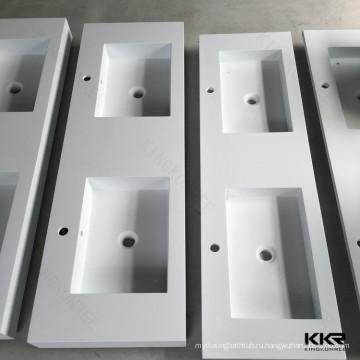Конкурентоспособная Цена культурных мраморный акриловая твердая поверхностная раковина ванной комнаты