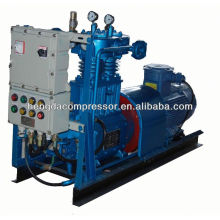 compressor de ar do cng do gás natural 250bar para o compressor do biogás do posto de gasolina 90Kw 0.6Mpa