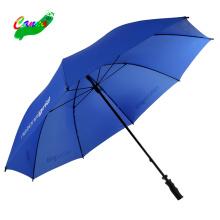 30 inch bule colour plastic handle golf umbrella for sale