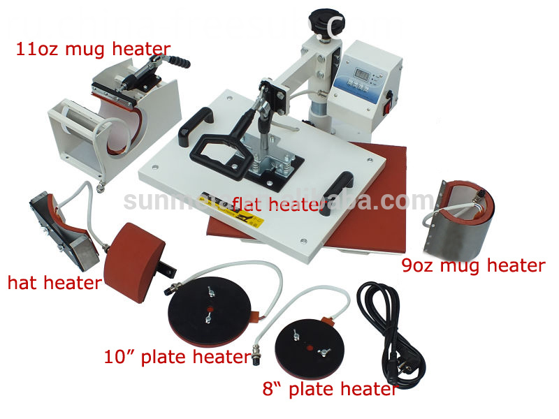 FREESUB Sublimation Heat Press Customized Shirts Printing Machine