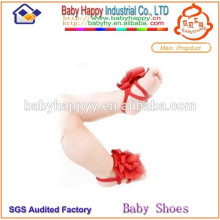 Calzado infantil hermoso para los pies del bebé ornamento del zapato de bebé