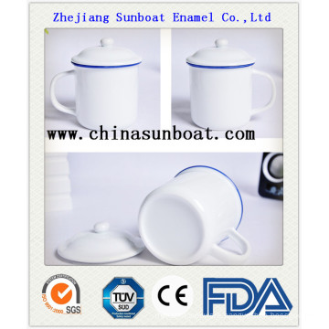Enamel Retro Chinese Traditional Water Cup