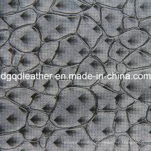 Cuero de muebles de decoración de patrón de moda de cuero (QDL-51384)