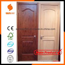 Das populäre feste hölzerne Tür-Entwurf mit konkurrenzfähigem Preis