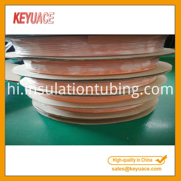 orange shrink tubing
