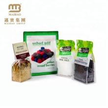 Impressão de alta qualidade feita sob encomenda do fabricante de Guangzhou Sal plástico laminado claro do mar e empacotamento dos sacos do alimento da pimenta preta