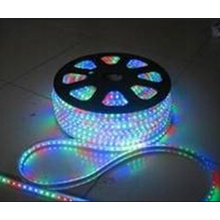 China 72LEDs decorativos 5050 rgb LED flexível tira luz lâmpada 220V