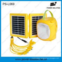 Solar Lantern Light with 9V Solar Panel Phone Charging
