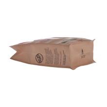 Kraft Coffee Box Нижняя упаковочная сумка с клапаном