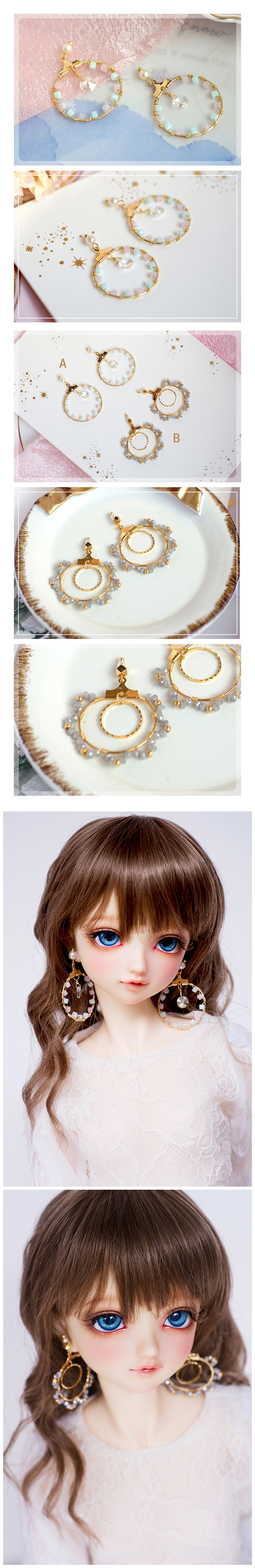 Accessaries Earrings Decoration X031 For SD