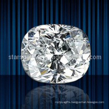 Various Color Cushion Cut Synthetic Gemstones