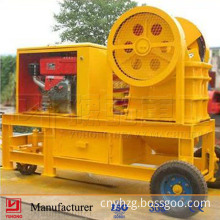 Discount Price! 2014 Yuhong Small Diesel Movable Stone Crusher CE Approved