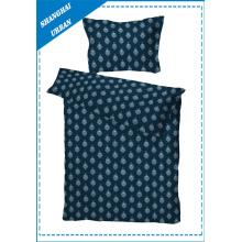 Conjunto de capa de edredão de cama de algodão de dormitório