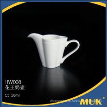 Spezielle Design königlichen eleganten Hotel verwenden kleine Porzellan Geschirr Milch Boot