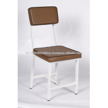 Antique Design Brown Cushioned Dining Chair