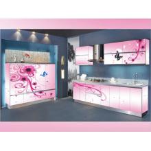 Rta Pink L Form Küche Kabinett