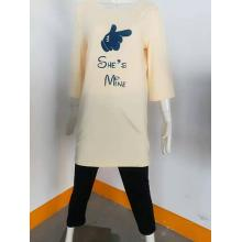 Pijama de mujer de seda de manga corta