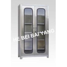 (C-1) Шкаф для инструментов из нержавеющей стали из двух дверей