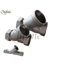 OEM Silica Sol Cast Products for Pipe Fitting Part
