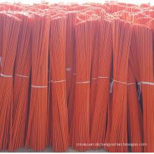 Orange Fiberglas-Einfahrtmarkierung mit 9 '' reflektierendem Klebeband