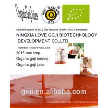2015 suco de goji orgânico