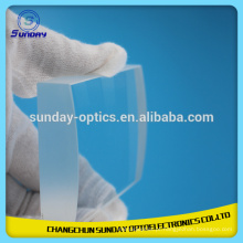 Lente de flúor de cálcio óptico