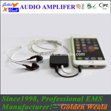 amplificador de silicone amplificador de auscultadores amplificador de bateria recarregável