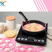 Hot Nützliche Perfekte Pfannkuchen Werkzeug Silikonform Omelett Maker