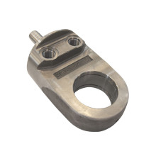 Steel Hydraulic Cylinder Rod End Parts CNC Machined