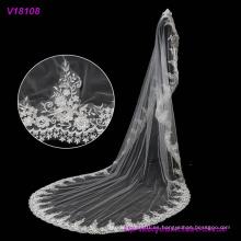 Velo del velo de la boda que se casa el velo de boda largo en diversos colores