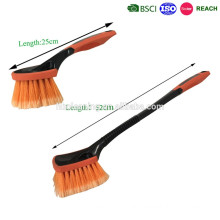 short handled soft bristles car wash brush