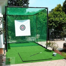 Durable Golf Practice net and cage for Indoor