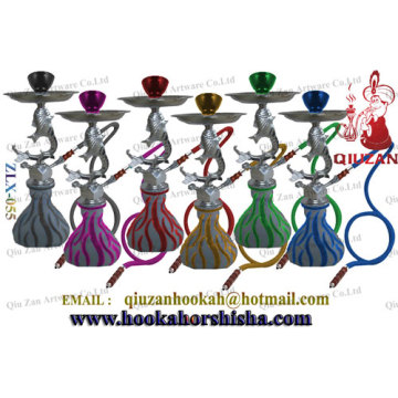 Zinc Soft Glass Medium Hookah Shisha Smoking Water Pipes