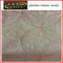 Fashion Embroidered Organza Curtain Fabric EDM2045