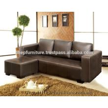 Canapé en forme de L, meuble de salon