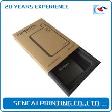 Caja de papel de empaquetado de encargo de la cartulina del cajón del teléfono móvil del teléfono del producto electrónico