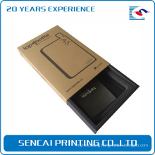Custom electronic product telephone mobile phone drawer cardboard packaging paper box