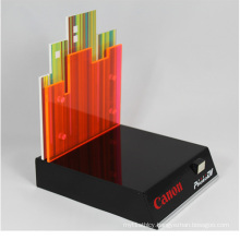 Custom Acrylic Counter Canon Camera Display Stand