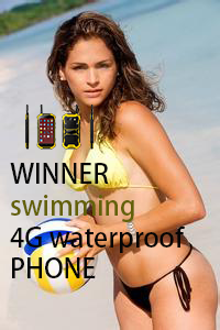 WINNER swimming 4G waterproof PHONE