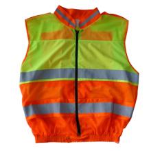 Desgaste reflectante de seguridad de alta visibilidad con manga larga (DFJ040)