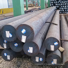 SAE 1045 S45c Barres rondes en acier au carbone laminé à chaud