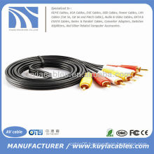 5FT 3RCA Audio AV cable male to male 1.5m