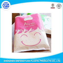 High Quality PO Die Cut Shopping Bag