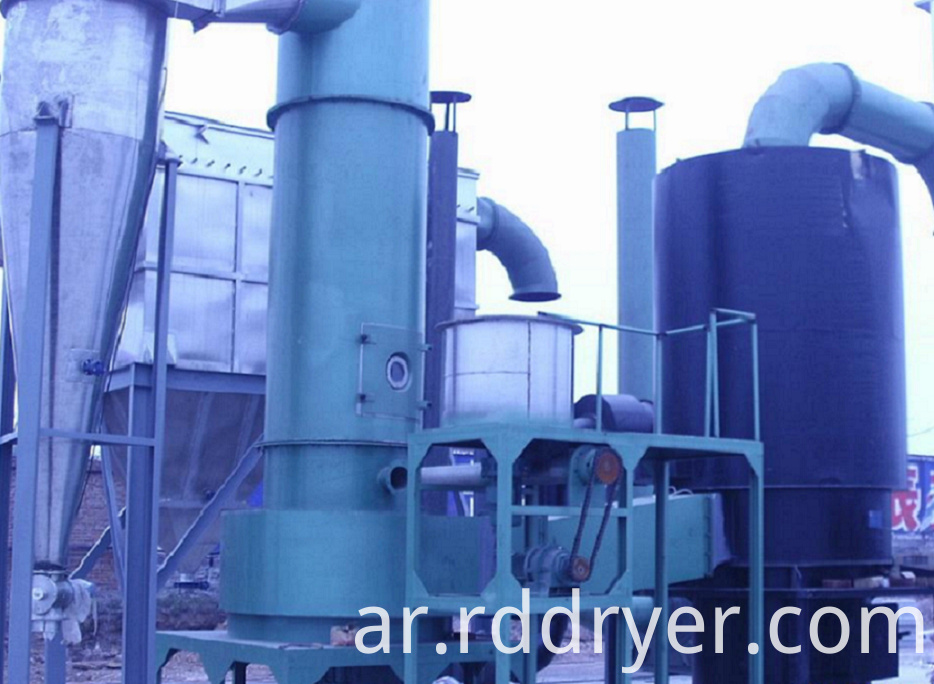 Xsg Flash Dryer for Foodstuff Industry