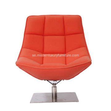 Samtida Jehs & Laub Fabric Lounge Chair Reproduktion